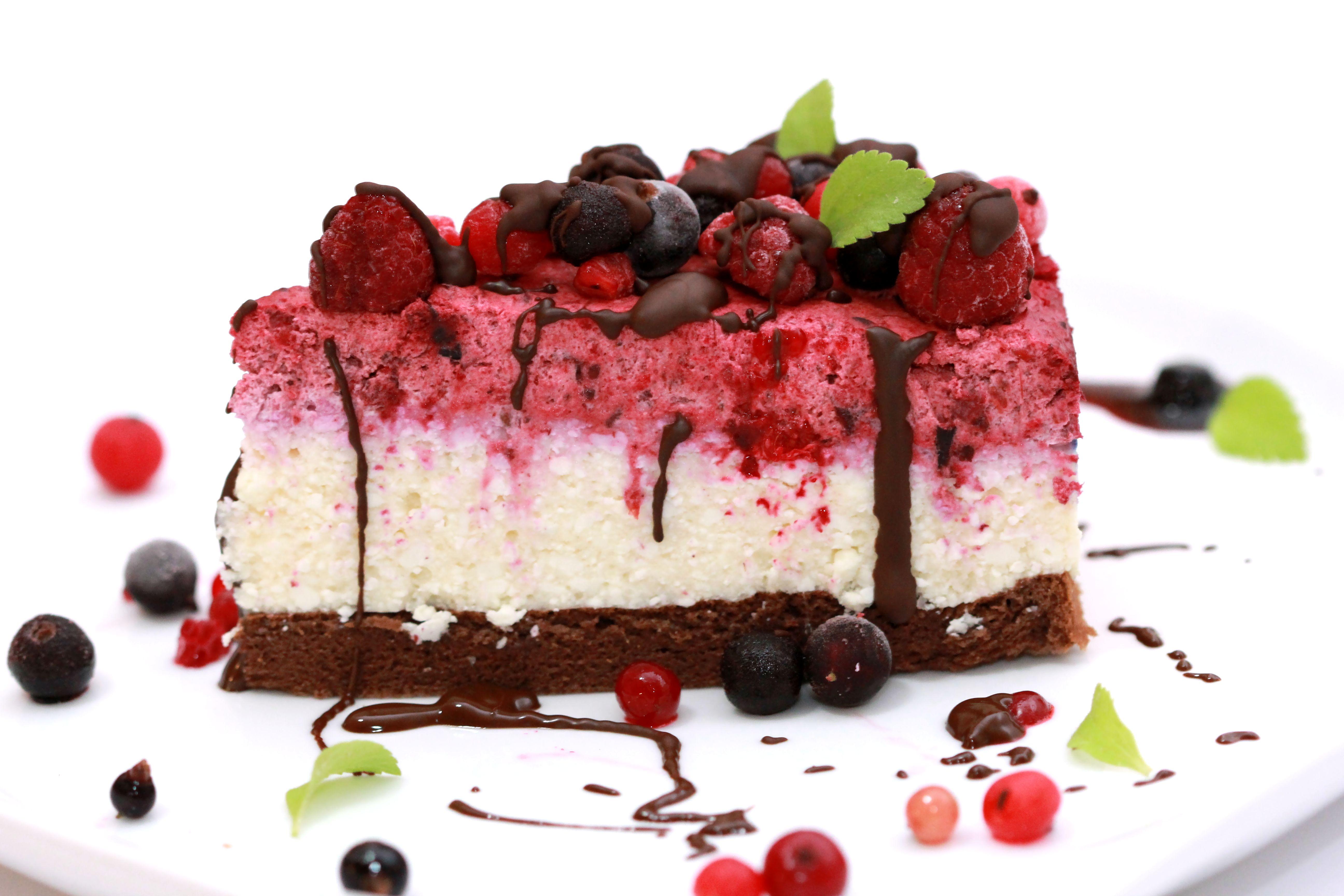 Nízkosacharidová tvarohová torta