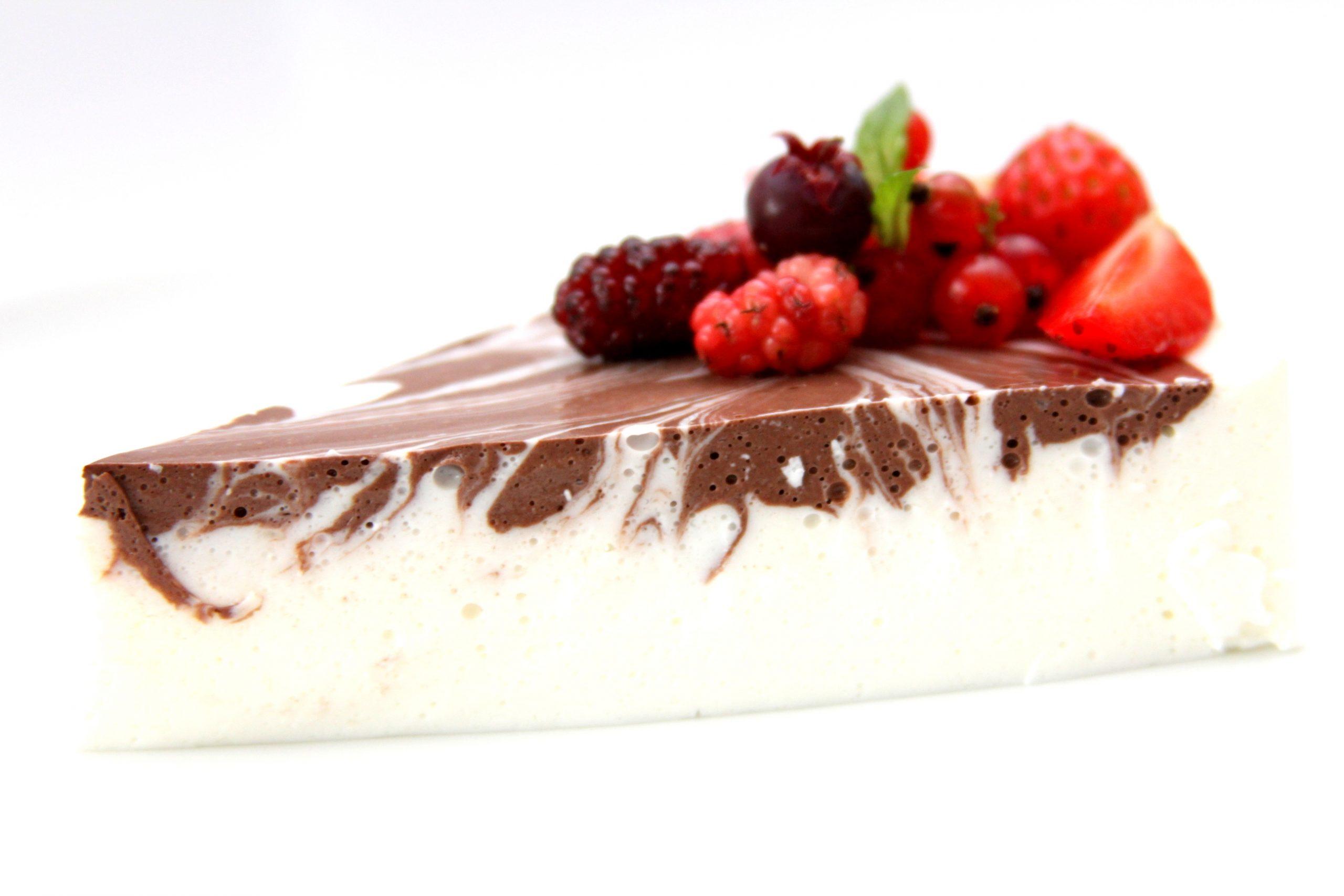 Jogurtovo želatínová torta