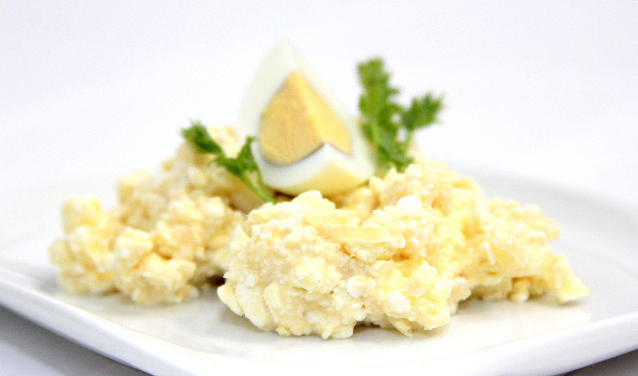 Fit vajíčkovo tvarohová nátierka