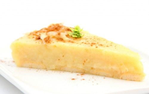 Jablková fit torta